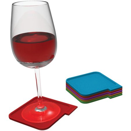 Houdini W2180 Assorted Color Coasters by