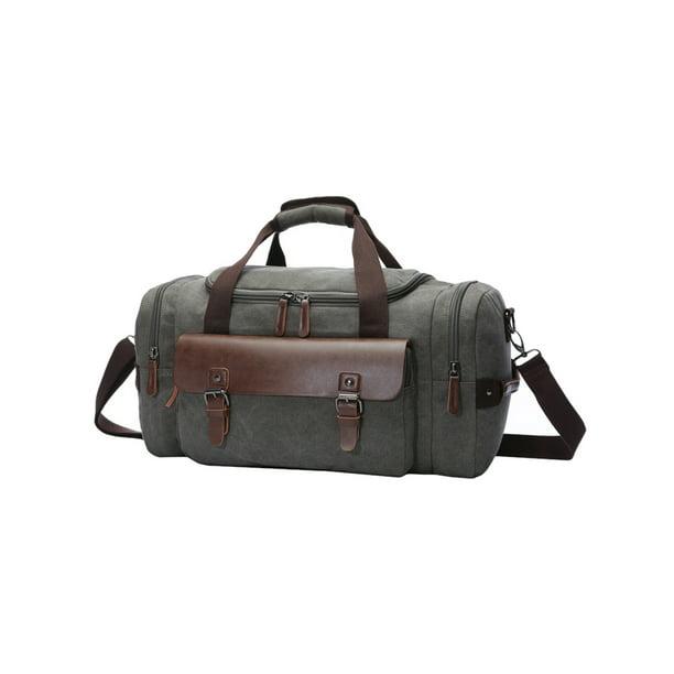 Men's Women's Sports Duffle Bags Travel Work Overnight Luggage Canvas  Handbag - Walmart.com - Walmart.com