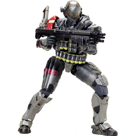 Halo Play Arts Kai Series 1 Emile Action Figure  Warrant Officer