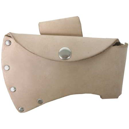 Nupla Axe Sheath, Leather, Undyed, - Axe Sheath Clam