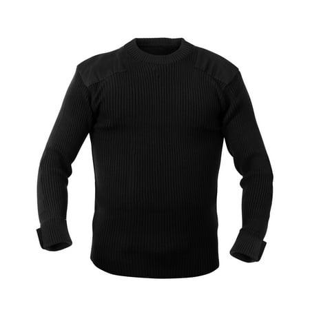 G.I. Acrylic Commando Sweater - Size 3XL Black