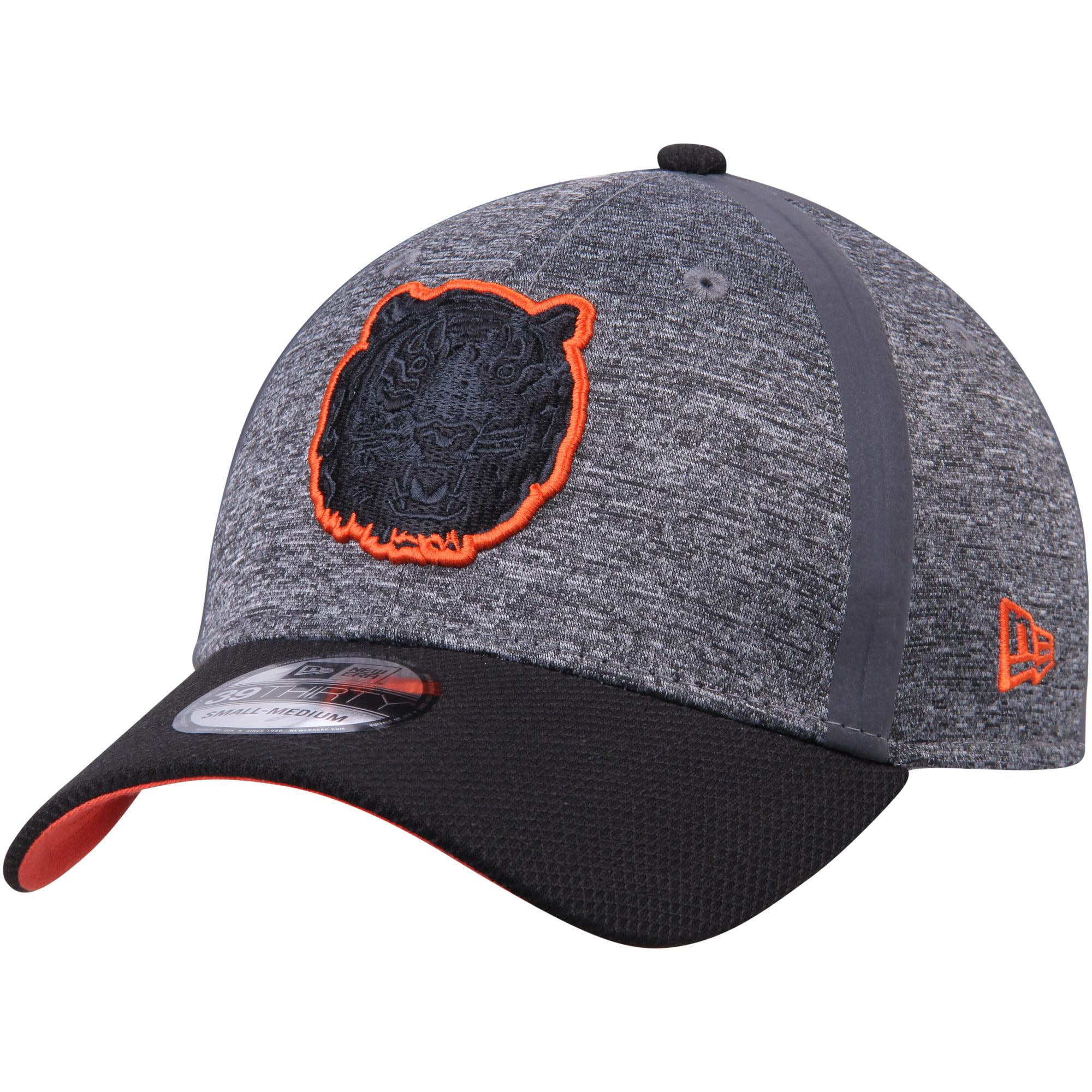 Detroit Tigers New Era Clubhouse 39THIRTY Flex Hat - Heathered Gray/Black