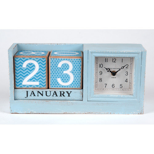 Wilco Home Wood Clock and External Calendar