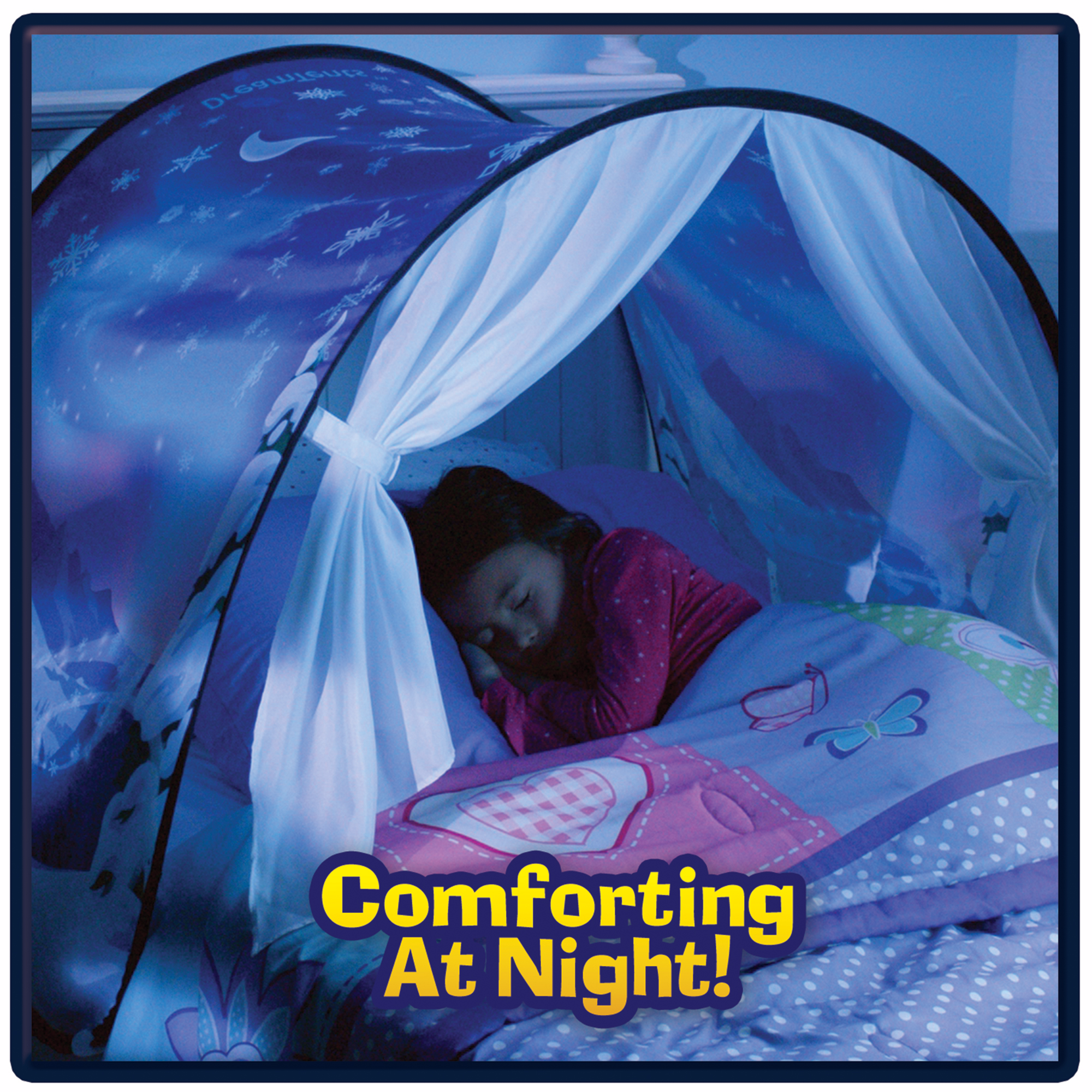 Innovative Magical Dream Tents Kids Pop Up Bed Tent Kid Bedroom Playhouse Winter Wonderland Gift For  sc 1 st  Walmart & SUNNY SKY Play Tents - Walmart.com