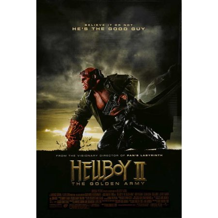 Hellboy 2  The Golden Army Poster Movie D  27X40