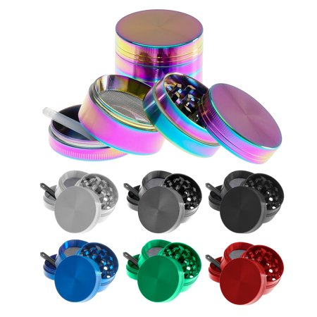 - Titanium Herb and Spice Grinder, Mini (5-Piece)