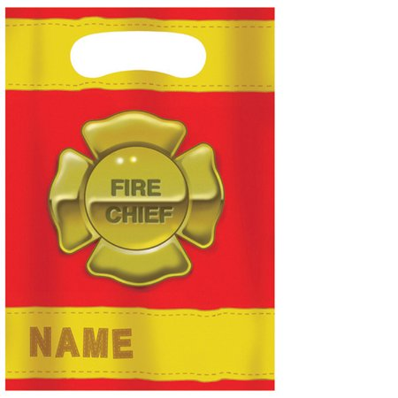 Loots Bags Pack Of 8 - Firefighter Favors
