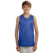 A4 Youth Reversible Mesh Tank N2206