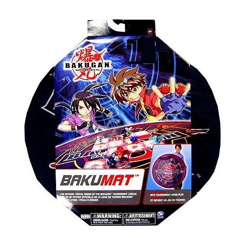 Battle Brawlers BakuMat Official Travel Arena Accessory, Pops Open Into Tournament Game Play By Bakugan