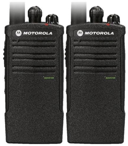 Motorola RDV5100 2 Pack Radio Bundle