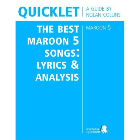 Quicklet on The Best Maroon 5 Songs: Lyrics and Analysis - eBook](Scary Halloween Songs Lyrics)