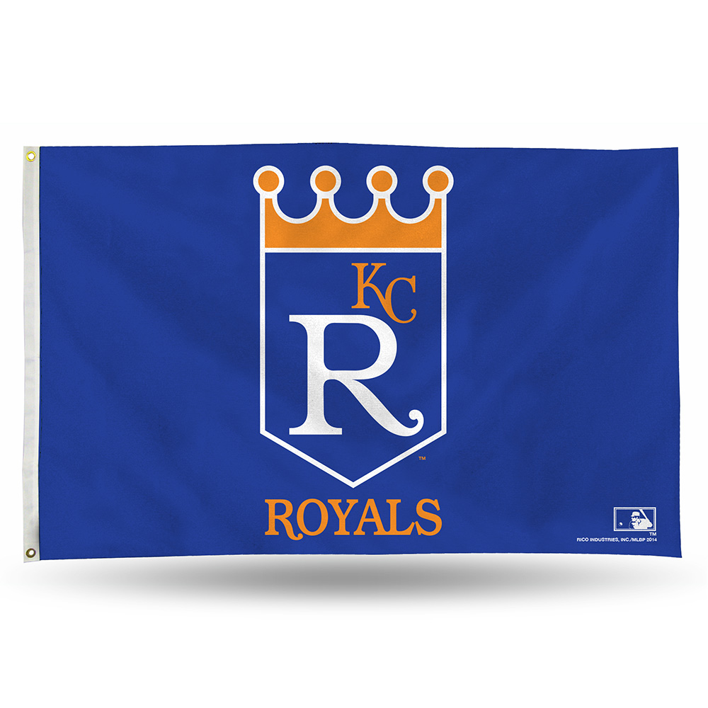 Kansas City Royals 3 x 5 Flag