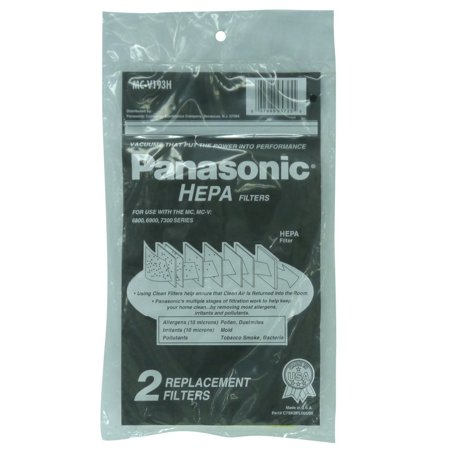 PANASONIC Replacement Vacuum HEPA Filter MC-v193H