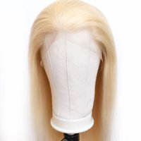 BEAUDIVA #613 Blonde 4*4 Lace Front Wig with Baby Hair Brazilian Straight Human Hair Wigs