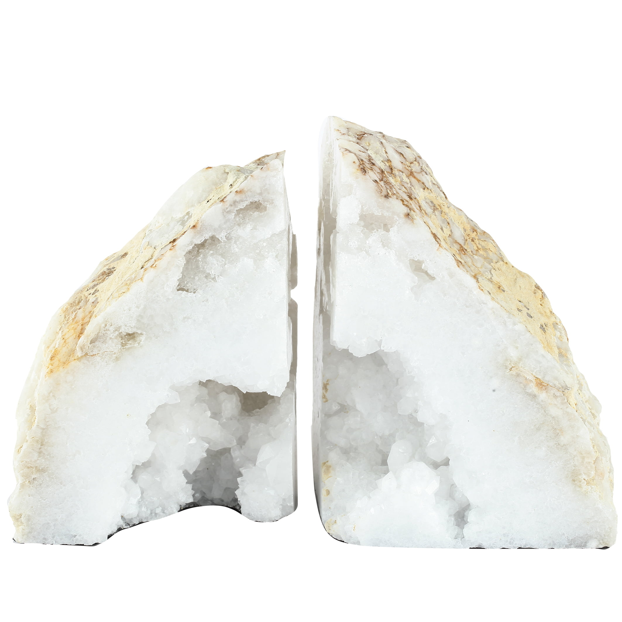A&B Home Natural Geode Bookends, Set of 2 by A&B Home