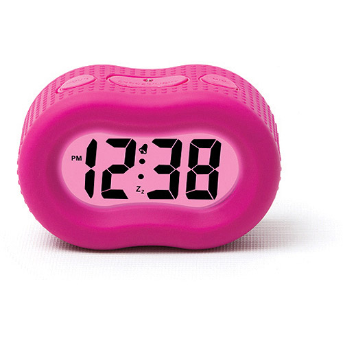 Generic Timelink Rubber Fashion Alarm Clock