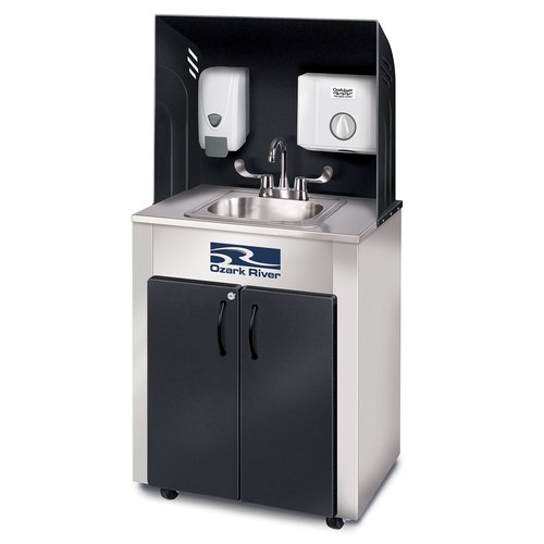 Ozark River Portable Sinks Nature Series Pro 26'' x 18'' Portable Handwash Station With Faucet