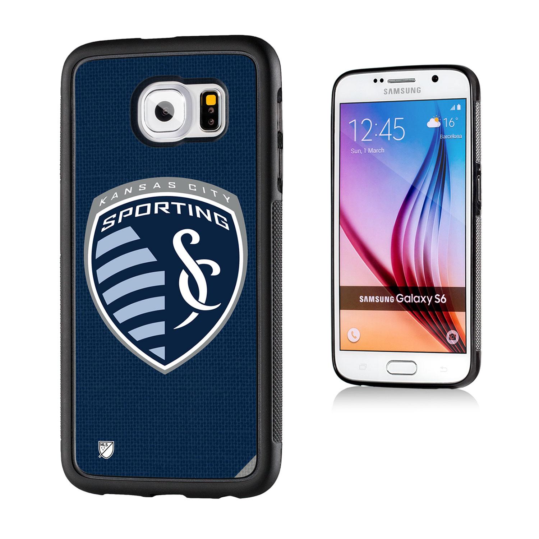 Sporting Kansas City Solid Galaxy S6 Bumper Case