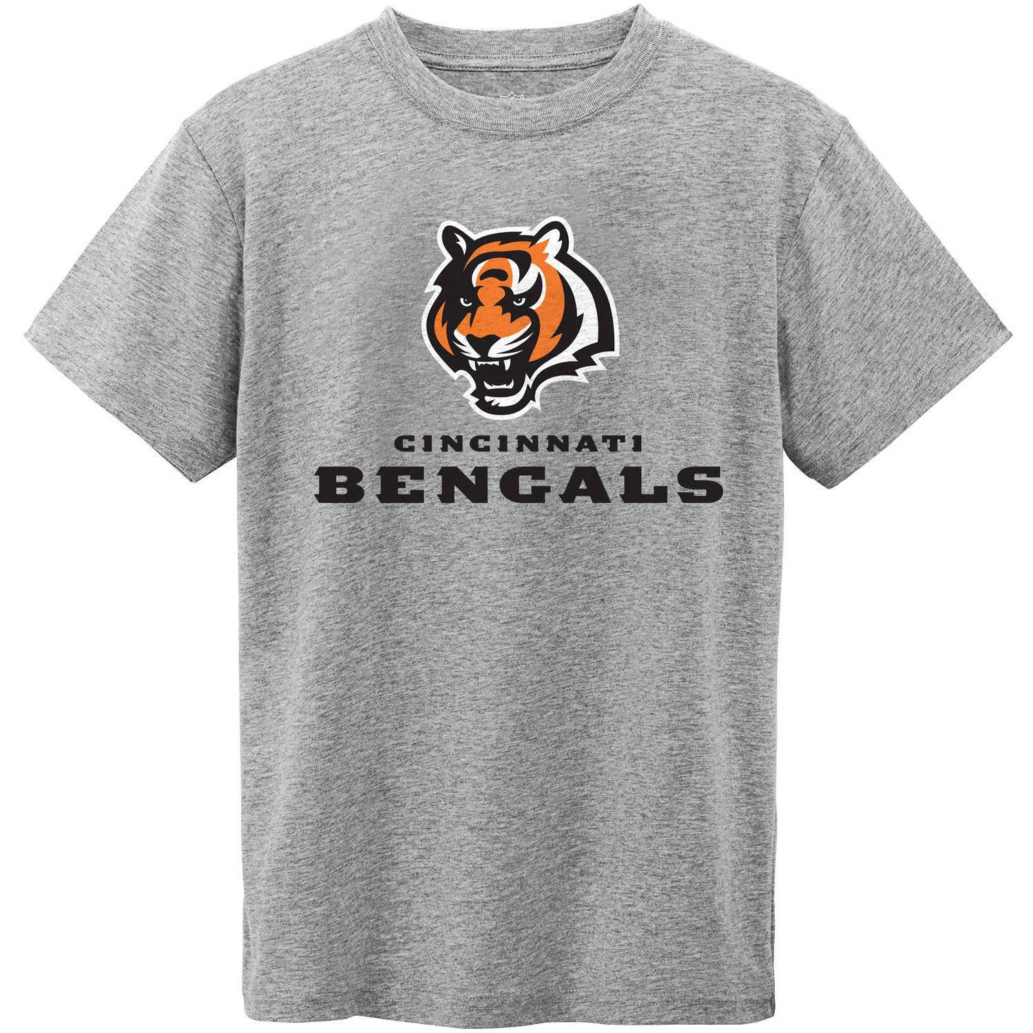 NFL Cincinnati Bengal Youth Short Sleeve Grey Tee