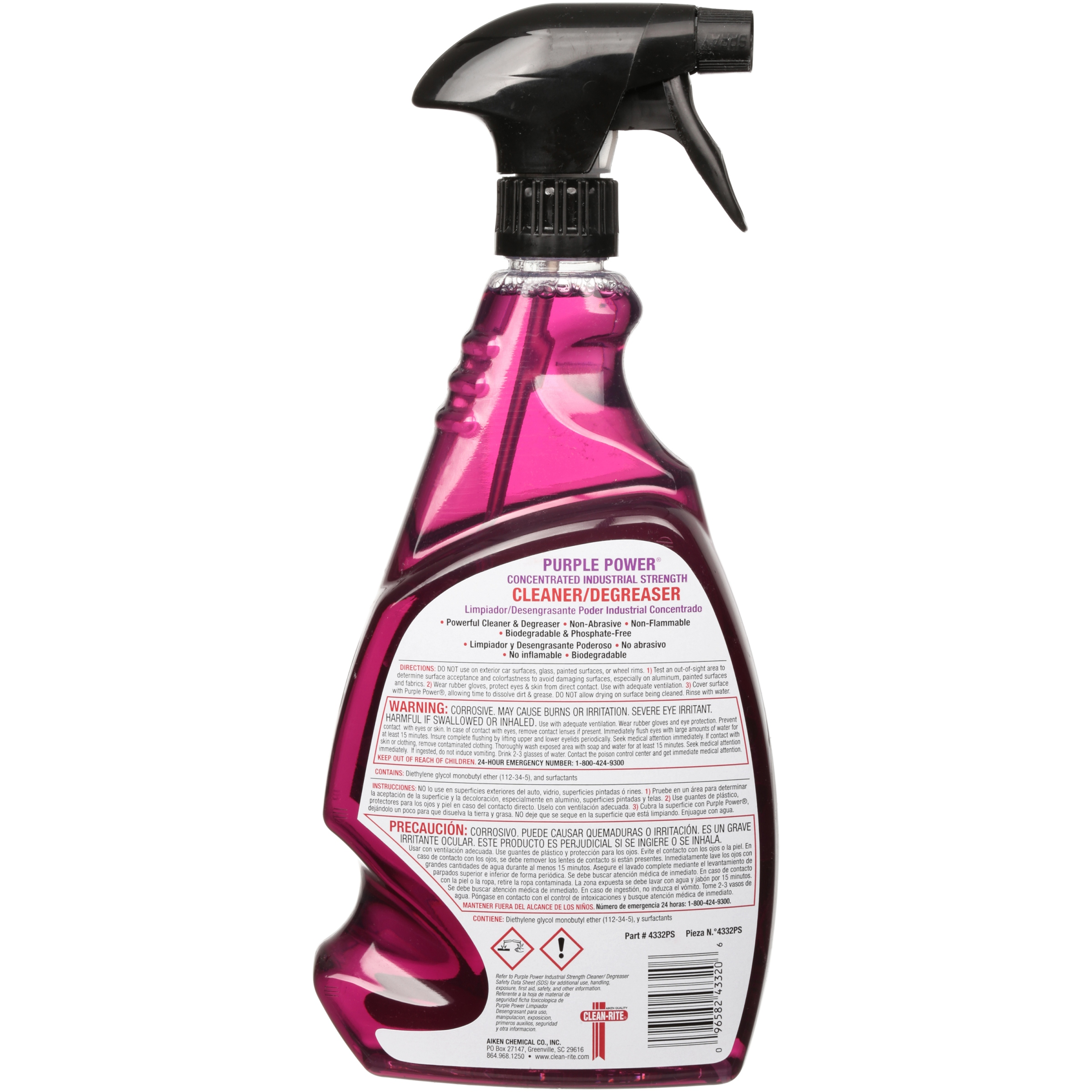 Purple Power Concentrated Industrial Cleaner/Degreaser