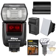 Best Flash For Nikon D7200s - Nikon SB-5000 AF Speedlight Flash with EN-EL15 Battery Review
