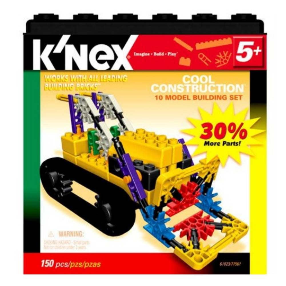 KNEX 10 Model Building Set Cool Construction Knex by K'NEX