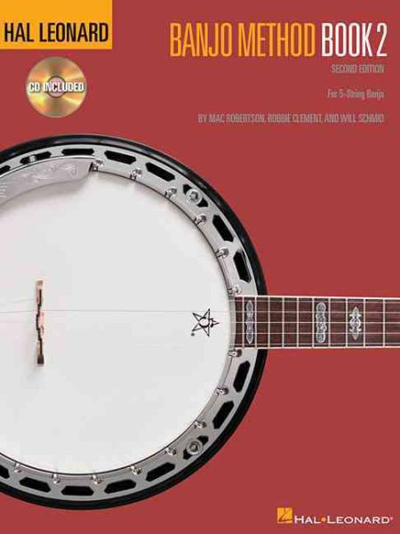 Hal Leonard Banjo Method Book 2 by