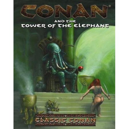 Conan And The Tower Of The Elephant Lightly Used