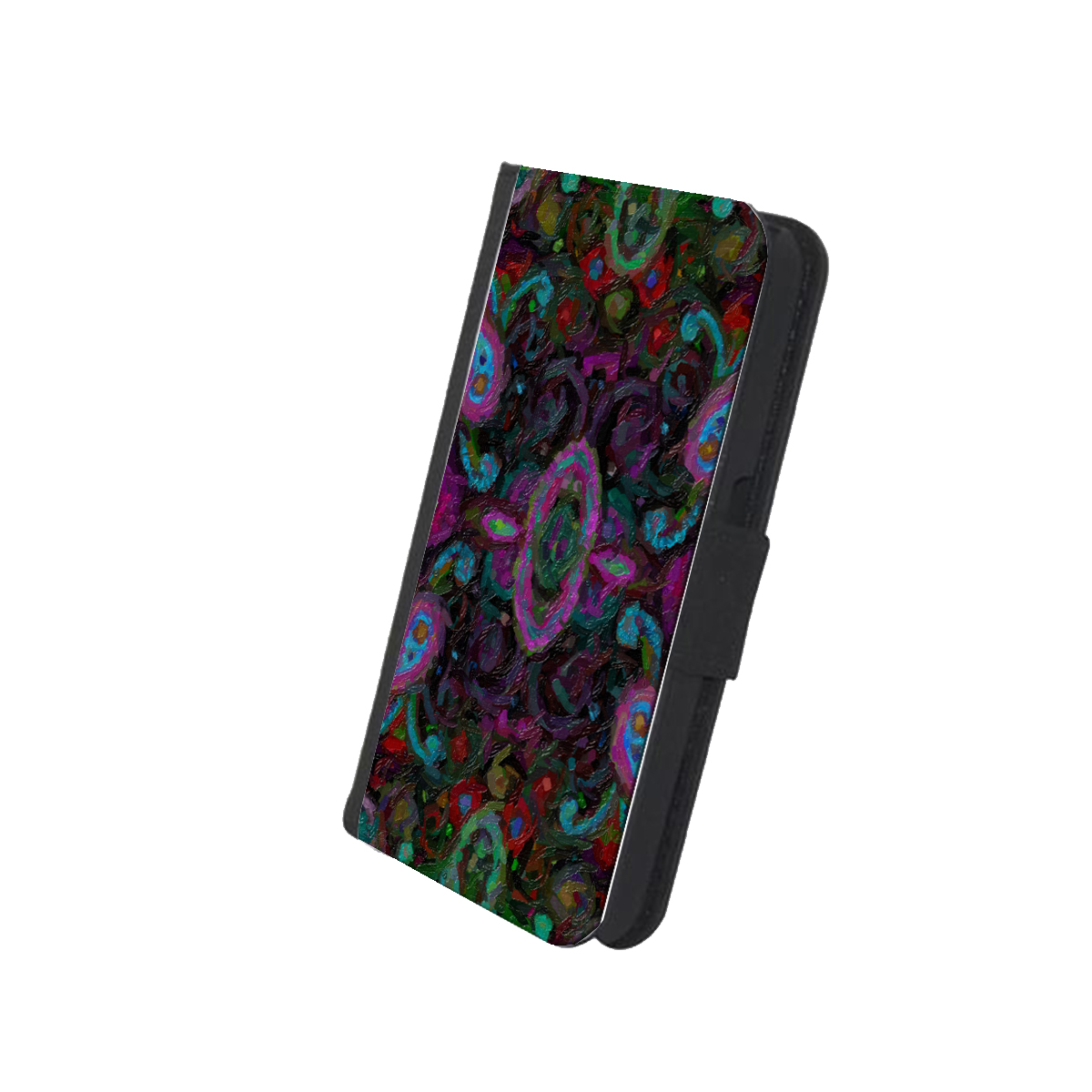 KuzmarK iPhone 7 Wallet Case - Paisley Painting
