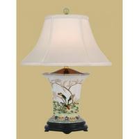 East Enterprises LPBSW9P9B Vase Table Lamp - Multicolored