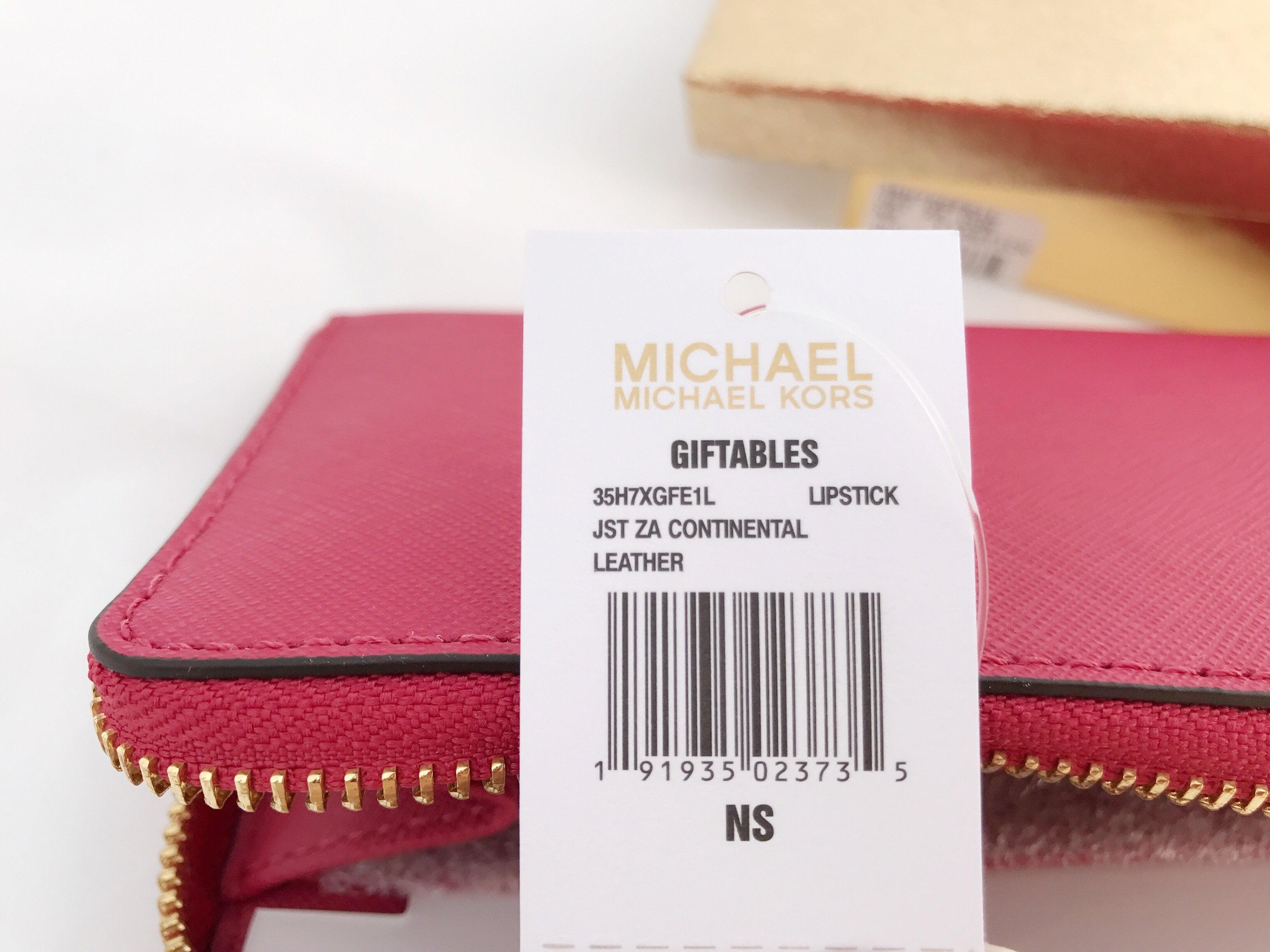 8a8c6d33afb1 ... discount code for michael kors jet set travel travel continental zip  around wallet lipstick pink walmart ...