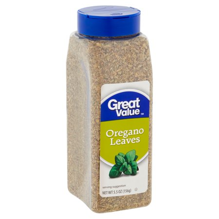 Great Value Oregano Leaves, 5.5 oz