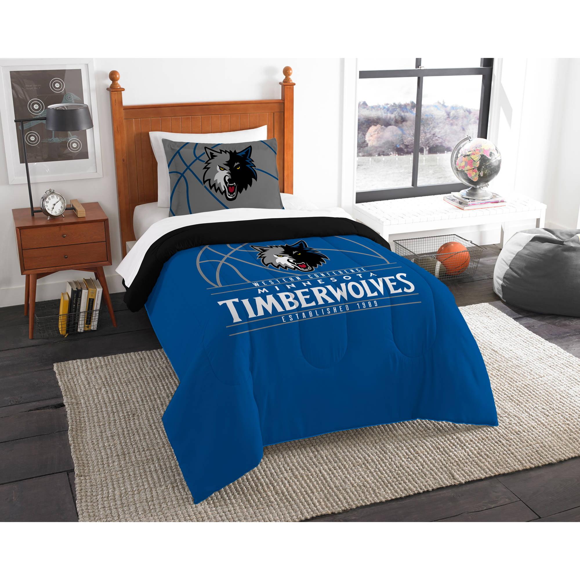 "NBA Minnesota Timberwolves ""Reverse Slam"" Bedding Comforter Set"