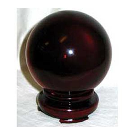 Party Games Accessories Halloween Séance Crystal Balls Divination Tool See The Future 80mm Red - Crystal Ball Halloween