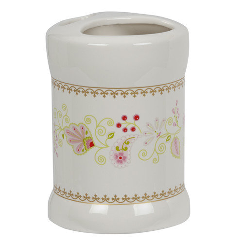 Creative Bath Products Moroccan Garden Toothbrush Holder