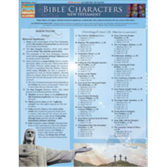 BarCharts- Inc.  9781423214175 Bible Characters- New Testament