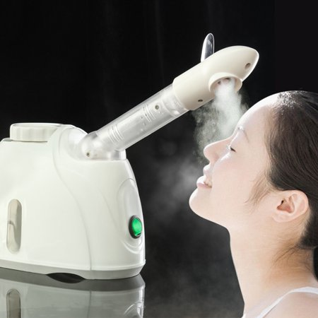 Mini 360° Facial Vapor Steamer Ozone Face Mist Sprayer Beauty Skin Care Instrument Aromatherapy Winter Facial Humidifier ()