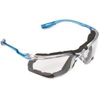 3M Virtua CCS Protective Eyewear, 11872-00000-20, 1 Pack, Clear Lens, Blue