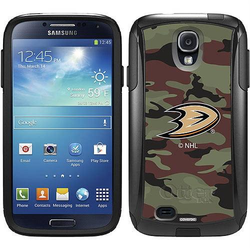 Anaheim Ducks Traditional Camo Design on OtterBox Commuter Series Case for Samsung Galaxy S4