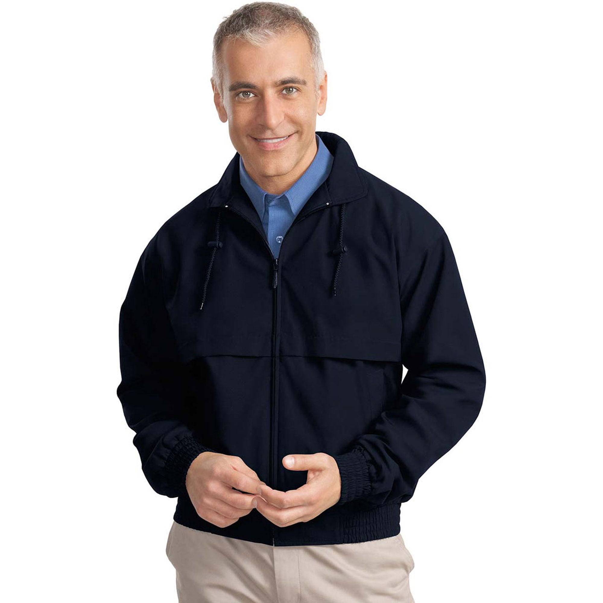 Port Authority Men's Breathable Classic Poplin Jacket