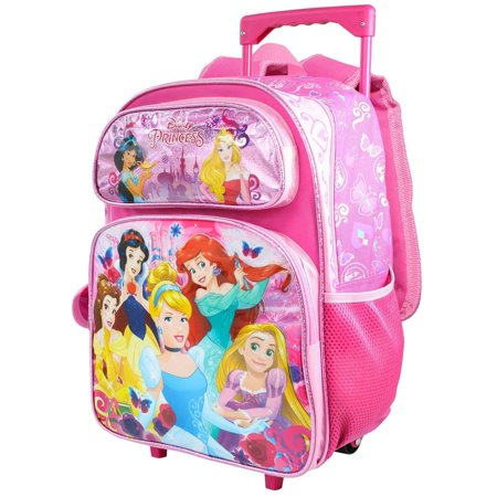 Roller Bar (Disney Princess Large School Rolling Backpack 16