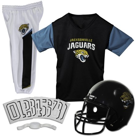 Franklin Sports NFL Jacksonville Jaguars Deluxe Uniform Set, Medium