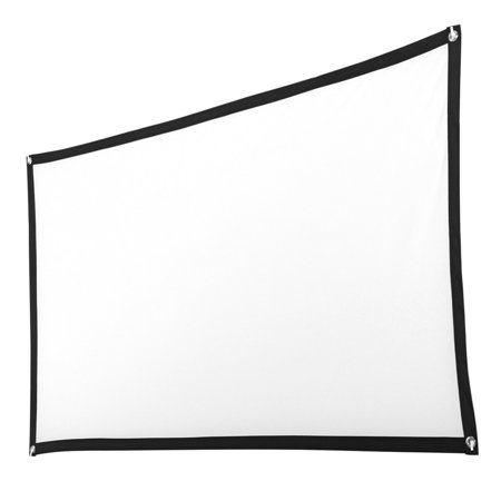Cinema Screen - 84inch HD Projector Screen 16:9 Home Cinema Theater Projection Portable Screen