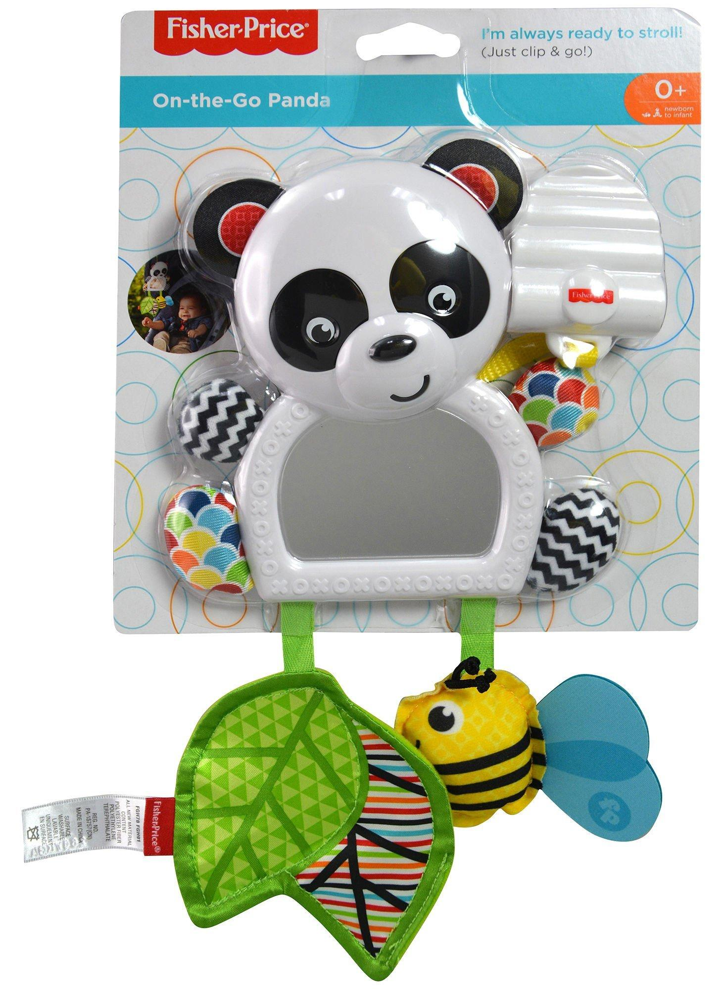 Fisher-Price On-The-Go Panda Mirror FGH91