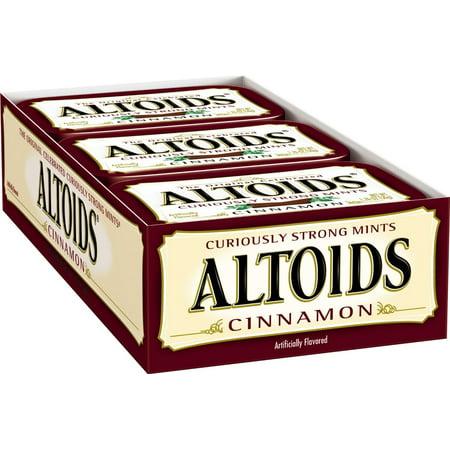 Image of Altoids Cinnamon Mint Candies - 1.76oz/12ct