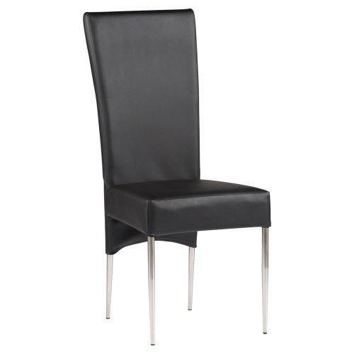 Chintaly Cilla Dining Side Chairs - Black - Set of 2
