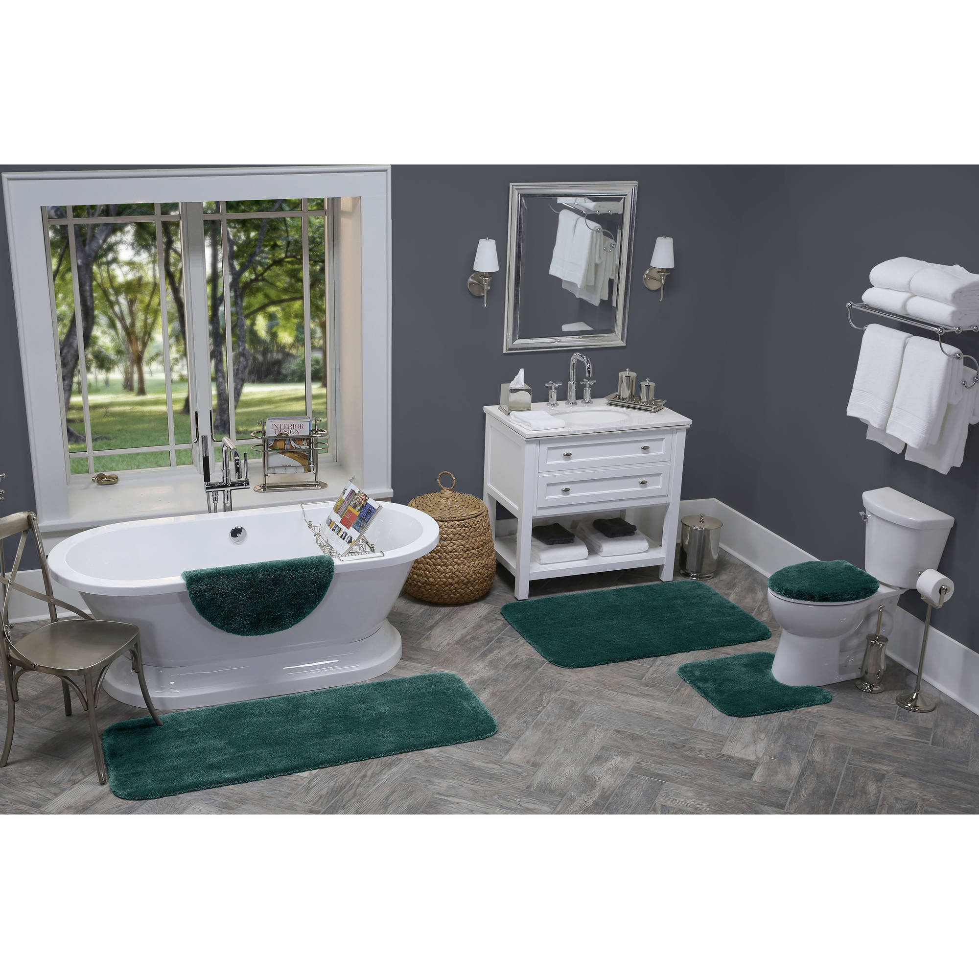 Better Homes and Gardens Extra Soft Bath Rug Collection, Contour