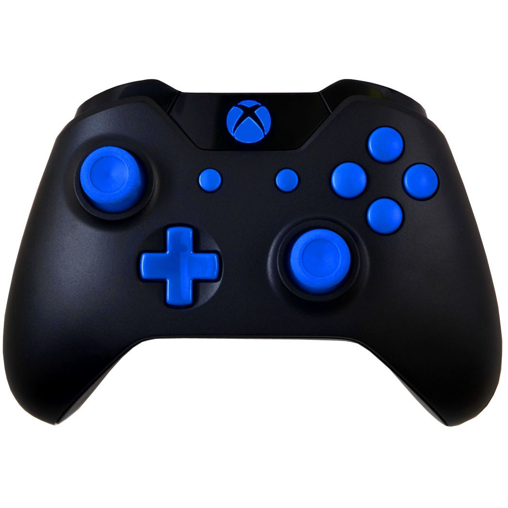Blue Out Xbox One Modded Controller for ALL Games, Including Call of Duty Infinite Warfare, by Midnight Modz
