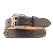 Ariat Accessories Men's Concho Tabs Belt BLACK 32
