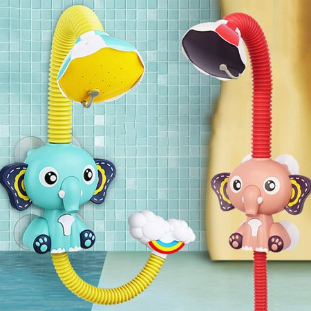 FANNI Baby Bath Toys Electric Elephent Animal Sucker Electric shower Rain Head - image 10 of 10